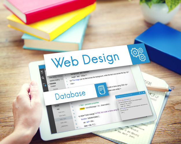 Web DesignWebsite Coding Concept